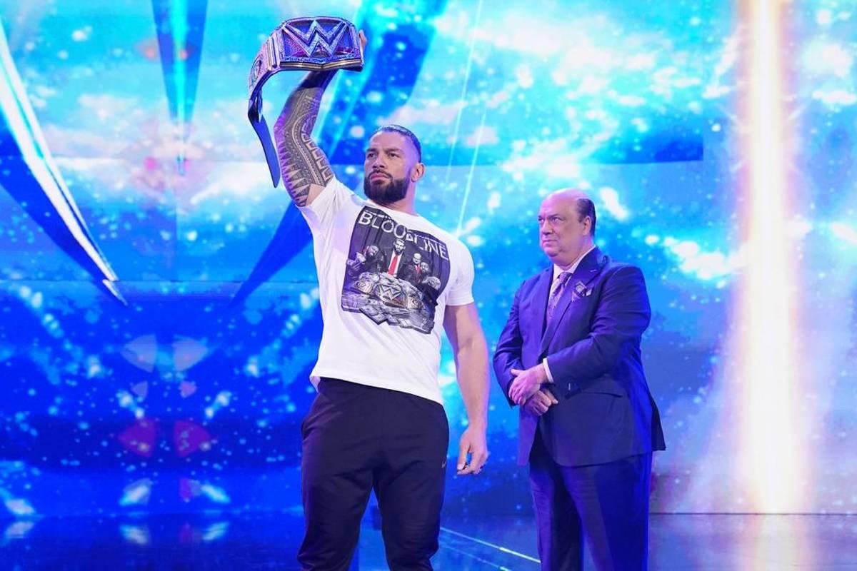 WWE-Topstar Roman Reigns zeigt sich weiter unbeeindruckt vom erstarkenden Konkurrenten AEW - und ätzt mächtig gegen deren Star-Neuzugang CM Punk.