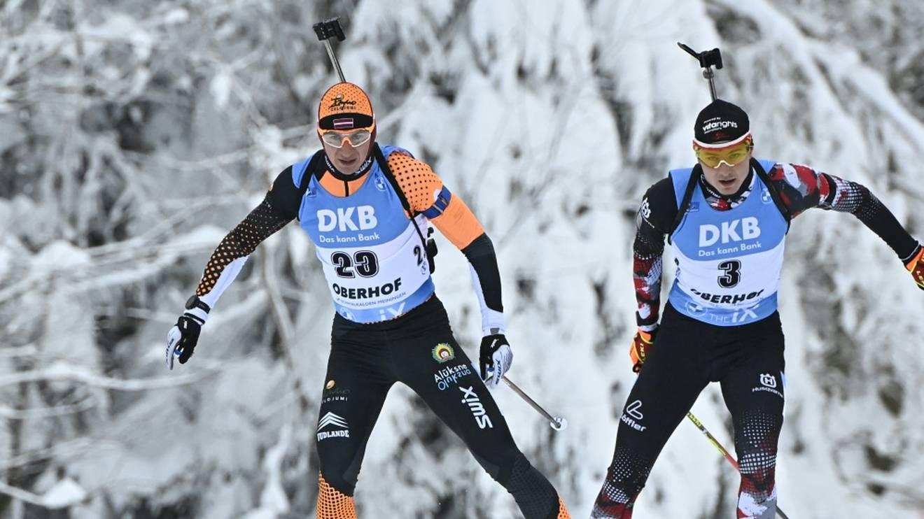 Andrejs Rastorgujevs (links) ist für Olympia gesperrt