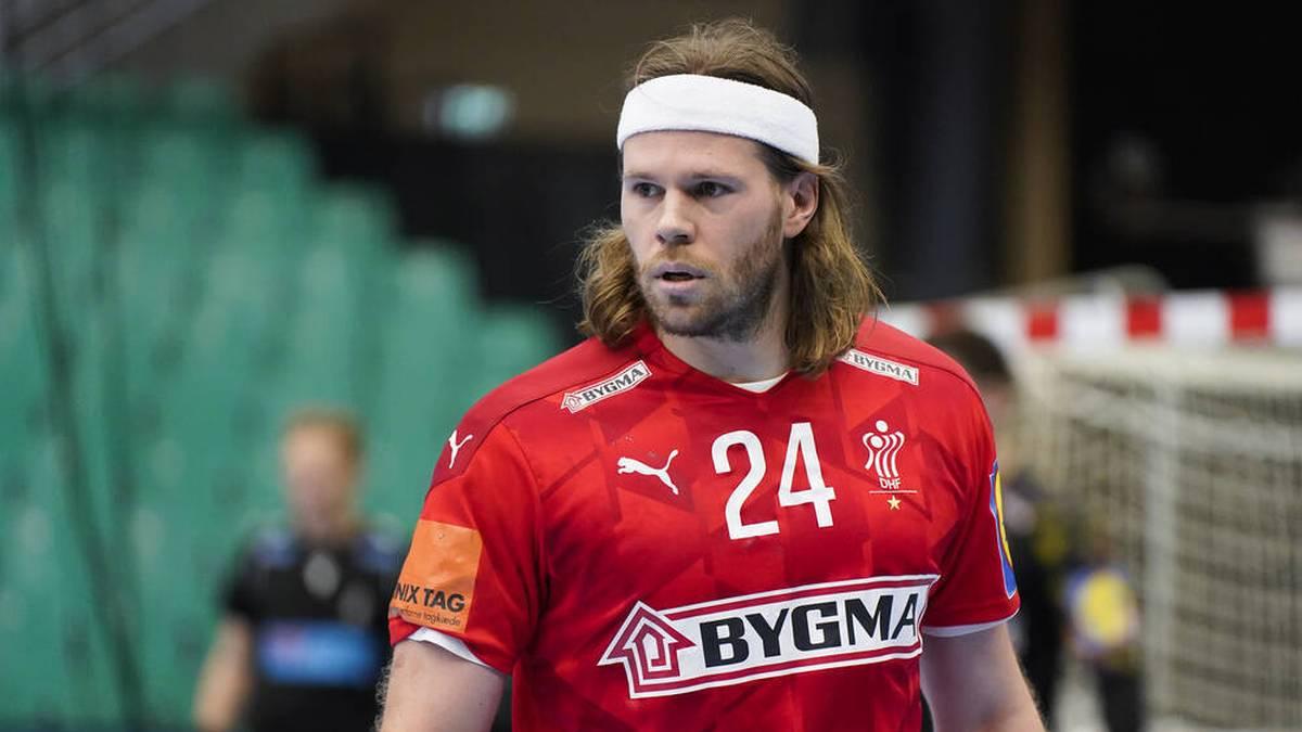 Wer schnappt sich das Stirnband von Mikkel Hansen?