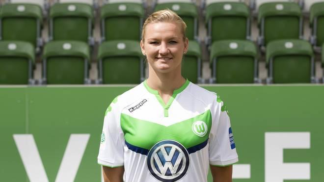 Alexandra Popp traf für den VfL Wolfsburg