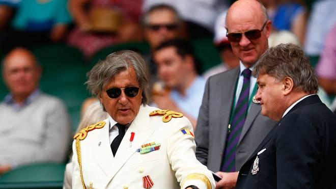 Ilie Nastase darf in Wimbledon nicht in die Royal Box