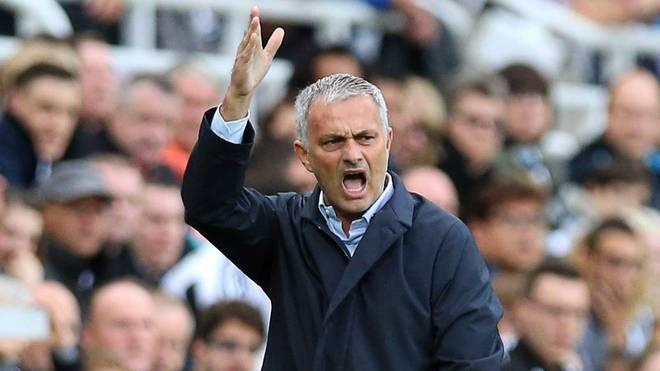 Jose Mourinho kam mit Chelsea nur zu einem Punkt in Newcastle