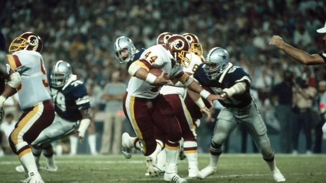 John Riggins (Redskins) vs. Dallas Cowboys