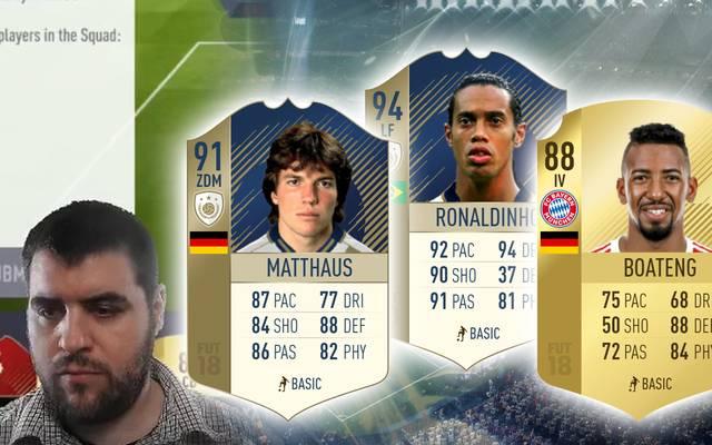 Zu Pugzillas Traumelf gehören Spieler wie Ronaldinho, Matthäus und Boateng.
