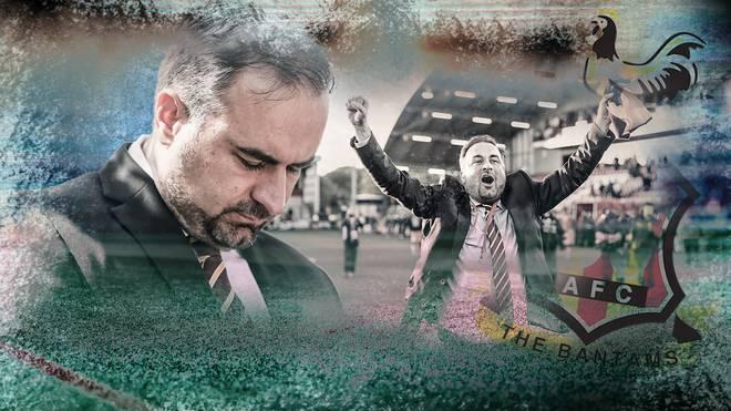 Für Edin Rahic ist das Kapitel Bradford City beendet