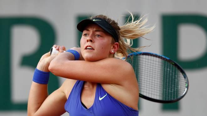 Carina Witthöft steht beim Turnier in Luxemburg unter den letzten Vier