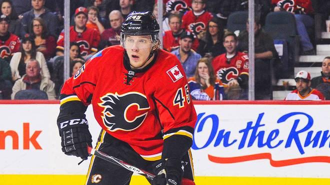 Für David Wolf endet das Abenteuer bei den Calgary Flames nach einer Saison
