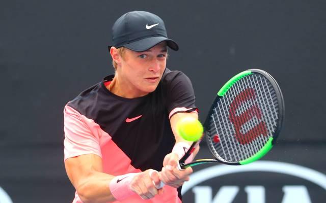 Rudolf Molleker schafft erstmals die Qualifikation für ein Grand-Slam-Turnier