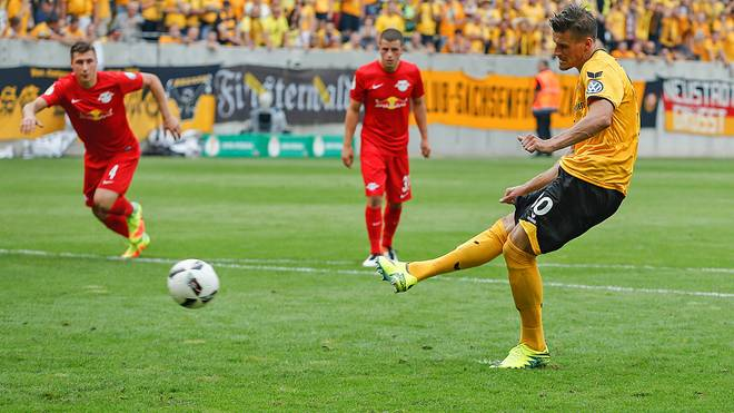Stefan Kutschke ist der erste Pokalheld der Saison