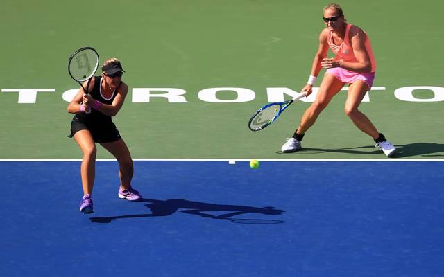 Anna-Lena Grönefeld und Kveta Peschke starten beim WTA-Saisonfinale im Doppel