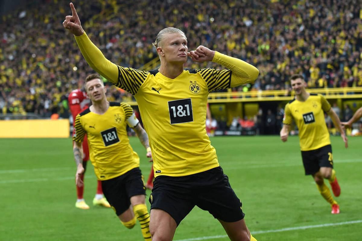 Erling Haaland avancierte mit zwei Treffern zum Matchwinner des BVB gegen Mainz. Rose ließ ihn gegen den eigenen Plan auf dem Feld.