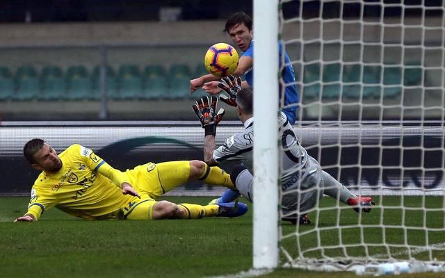 Allein im Spiel zwischen Chievo Verona und der Fiorentina fielen sieben Tore