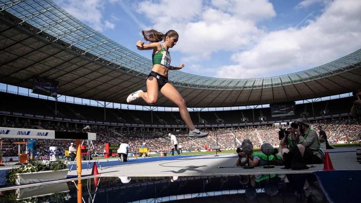 Krause verbessert deutschen Rekord über 3000 m Hindernis