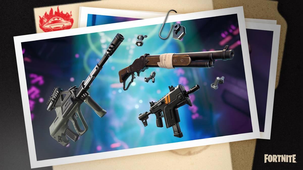 Season 7 spülte jede Menge verrückter Waffen auf die Fortnite-Insel