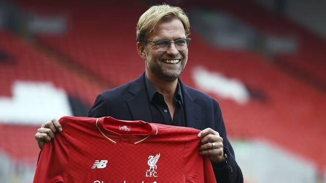 Jürgen Klopp hat beim FC Liverpool für drei Jahre unterschrieben
