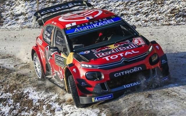 Sebastien Ogier gewinnt zum sechsten Mal in Folge die Rallye Monte Carlo