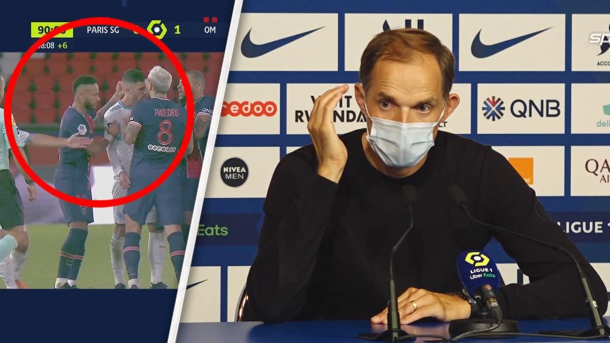 PSG gegen Marseille – ein Klassiker, in dem richtig Feuer drin ist. Fünf Spieler fliegen vom Feld, darunter Neymar Jr. - der anschließend Rassismus-Vorwürfe erhebt.