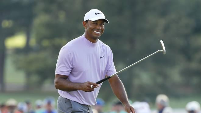 Tiger Woods könnte am Sonntag seinen 15. Major-Titel feiern