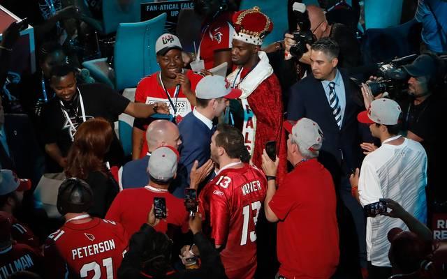 Die Fans der Arizona Cardinals begrüßten ihren neuen Quarterback Josh Rosen äußerst freundlich