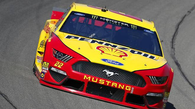 Joey Logano (Penske-Ford) hatte das Michigan-Rennen am Montag im Griff