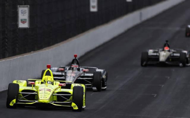 Indy-500-Polesetter Simon Pagenaud markierte auch im Montagstraining Bestzeit