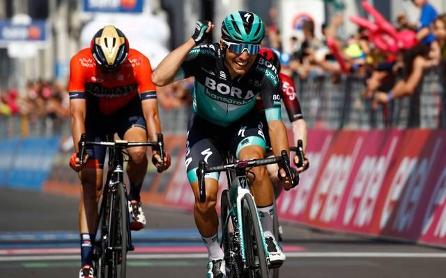 Cesare Benedetti hat die 12. Etappe beim Giro d'Italia gewonnen