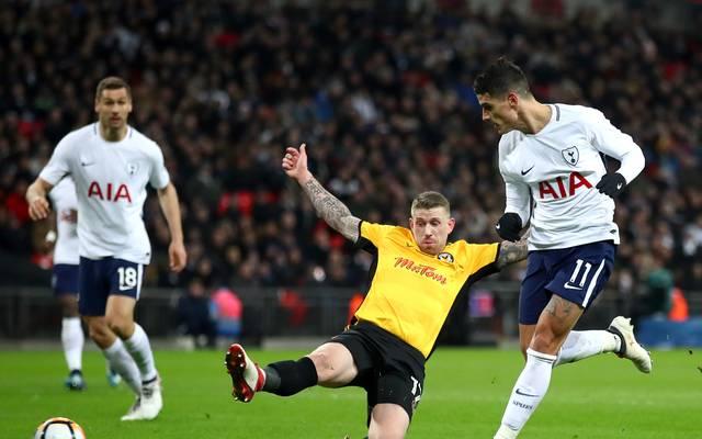 Erik Lamela (r.) erzielte den Endstand für Tottenham Hotspur