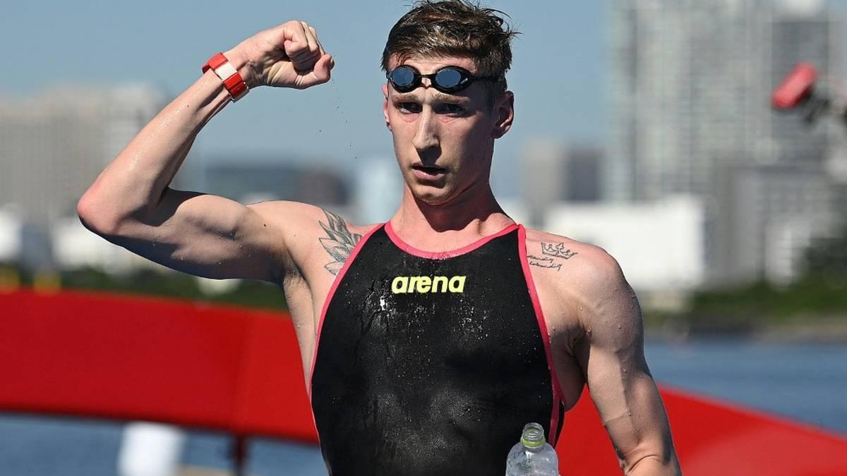 Schwimm-Olympiasieger Florian Wellbrock siegte in Barcelona