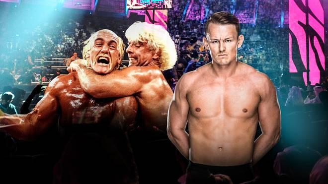 Marcel Barthel (r.) tritt bei WWE in die Fußstapfen von Hulk Hogan, Ric Flair - und die seines Vaters