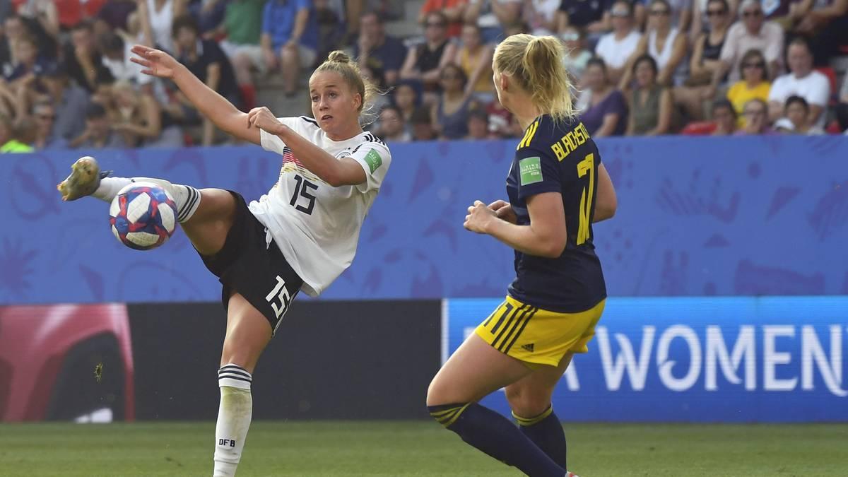Giulia Gwinn wurde als beste junge Spielerin der WM ausgezeichnet