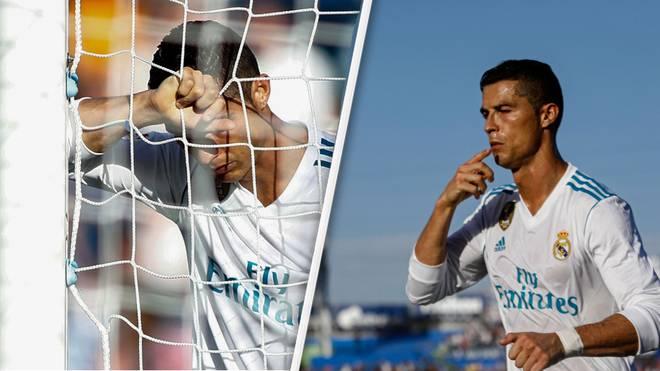 Cristiano Ronaldo hat am 8. Spieltag sein erstes Tor in der Liga erzielt