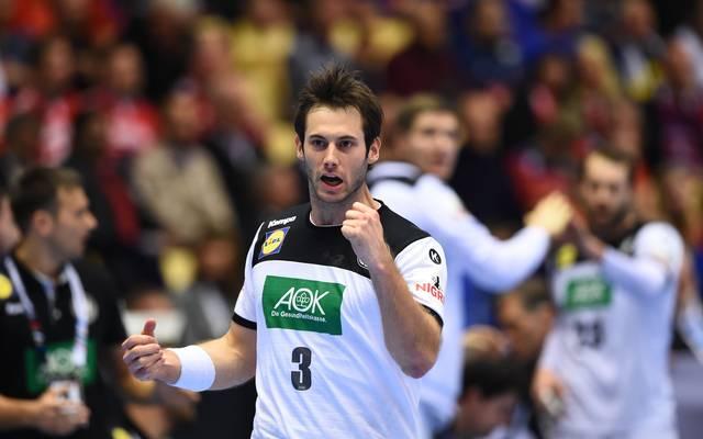 Uwe Gensheimer führt die deutschen Handballer in der EM-Quali an