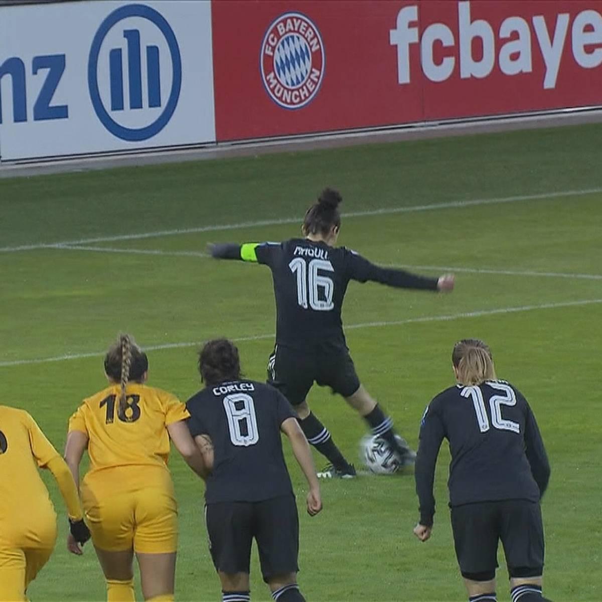 Elfer-Festival: Bayern-Damen souverän im Viertelfinale