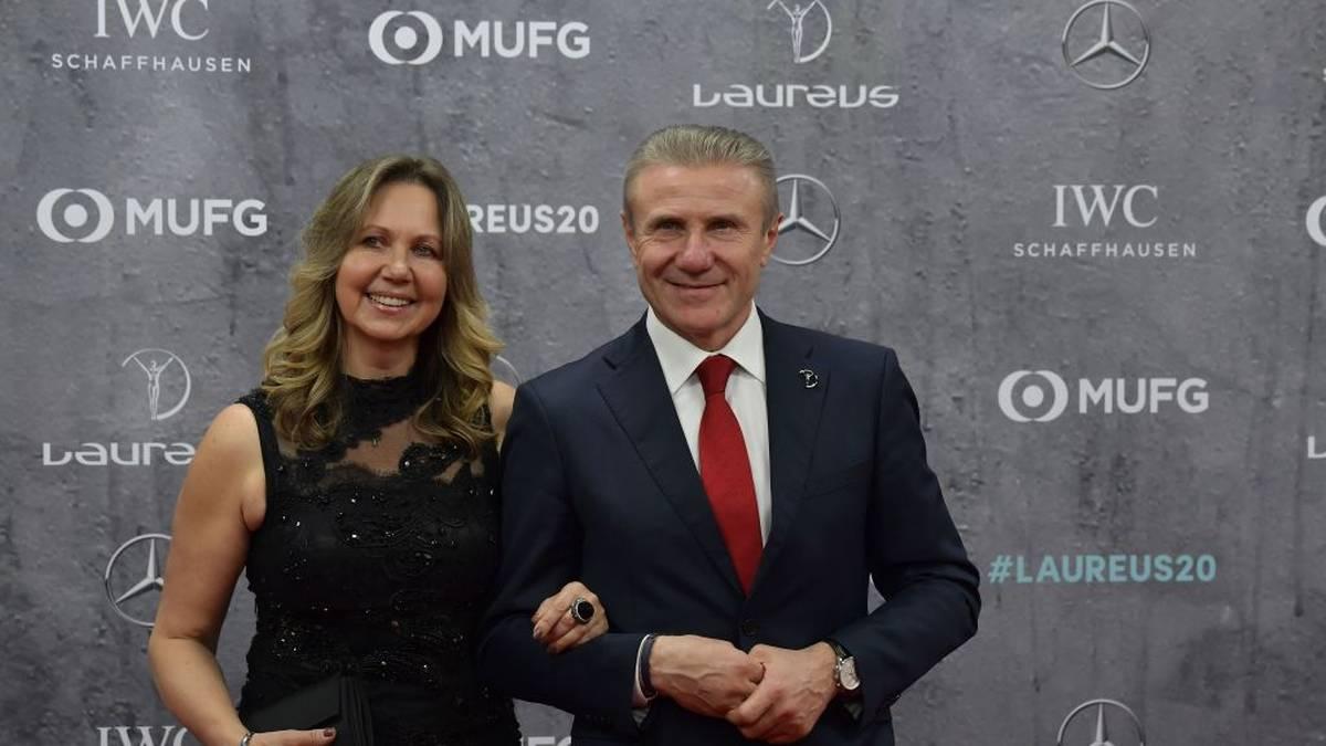 Sergej Bubka und Frau Lilja 2020