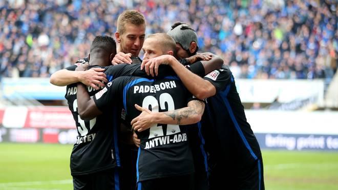 Aufsteiger Paderborn peilt den Durchmarsch in die Bundesliga an