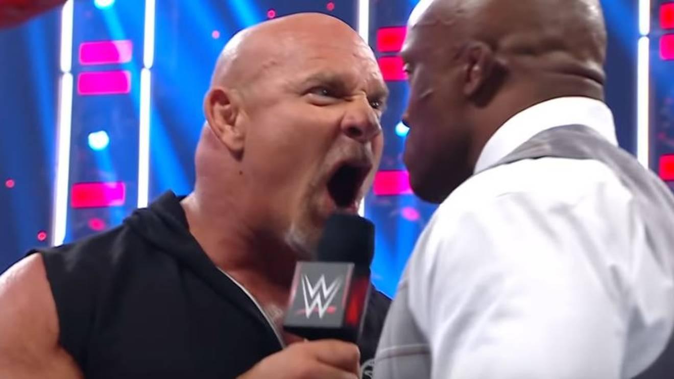 Bei der Ansprache von Bill Goldberg riefen WWE-Fans bei RAW nach Bray Wyatt
