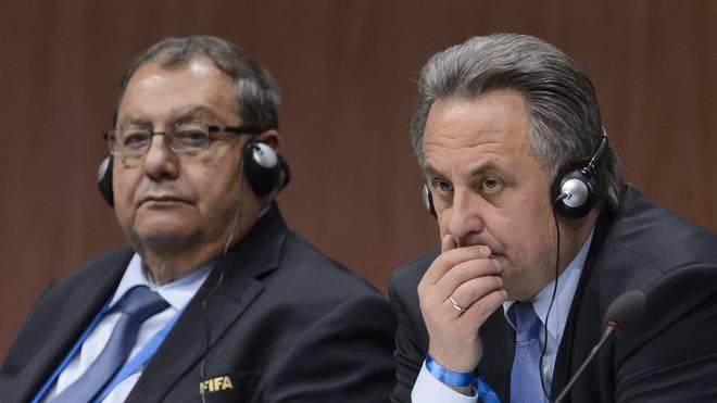 Rafael Salguero (l.) wurde von der FIFA für sieben Jahre gesperrt
