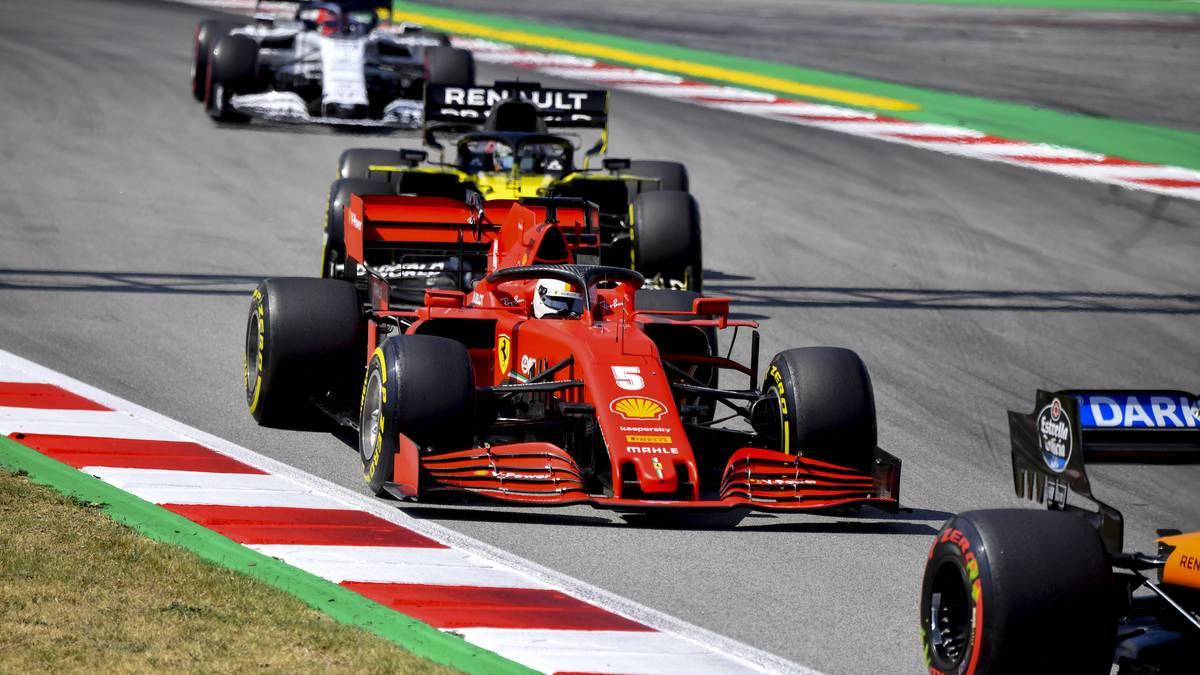 Die Formel 1 fährt in Italien vor Papp-Fans