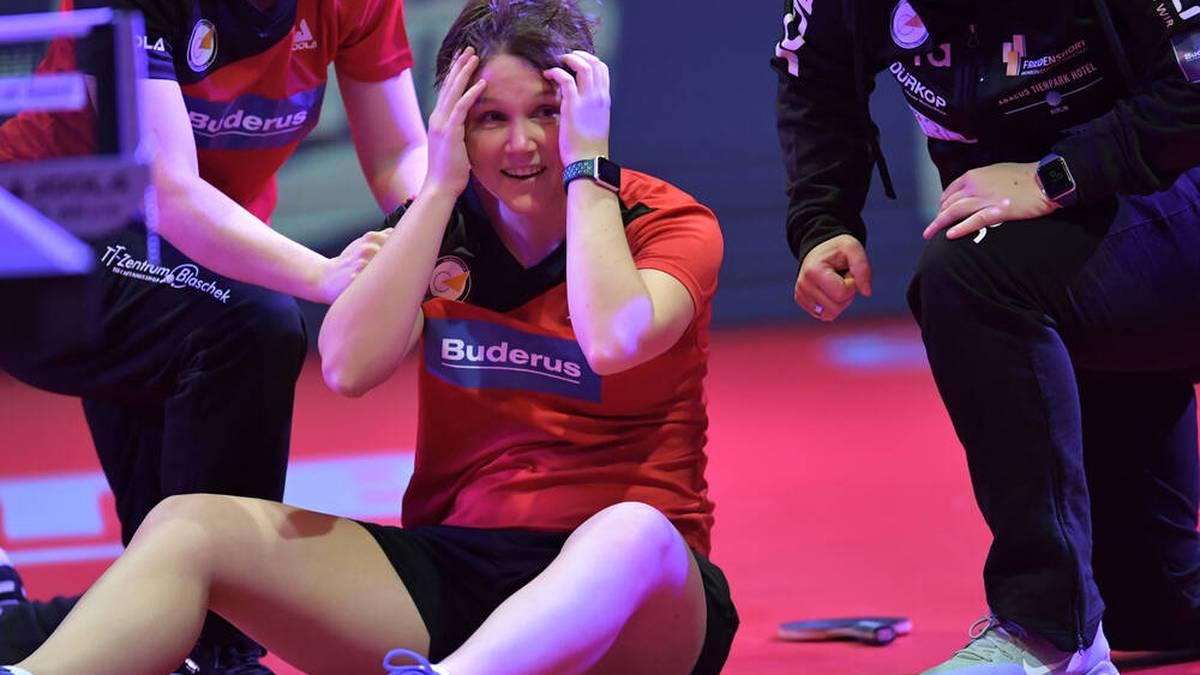 Nina Mittelham führte die deutschen Tischtennis-Frauen zu EM-Gold