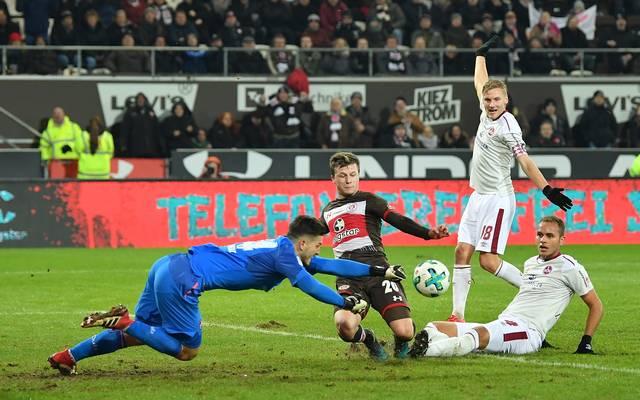 FC St. Pauli v 1. FC Nuernberg - Second Bundesliga