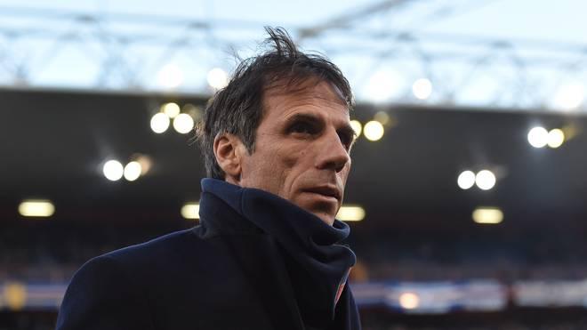 Gianfranco Zola war im vergangenen Jahr für wenige Monate Trainer von Cagliari Calcio