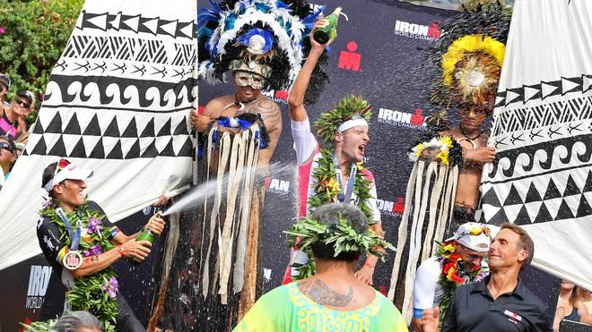 Jan Frodeno hat als erster Deutscher zum zweiten Mal in Folge den Ironman Hawaii gewonnen