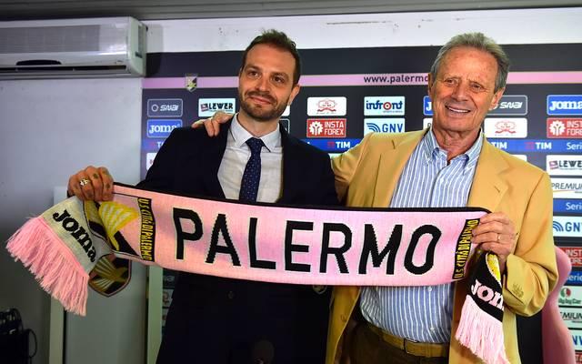 US Citta di Palermo Press Conference