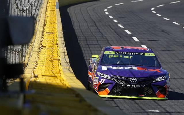 """Denny Hamlin beginnt die """"Round of 12"""" der Playoffs auf der Pole-Position"""