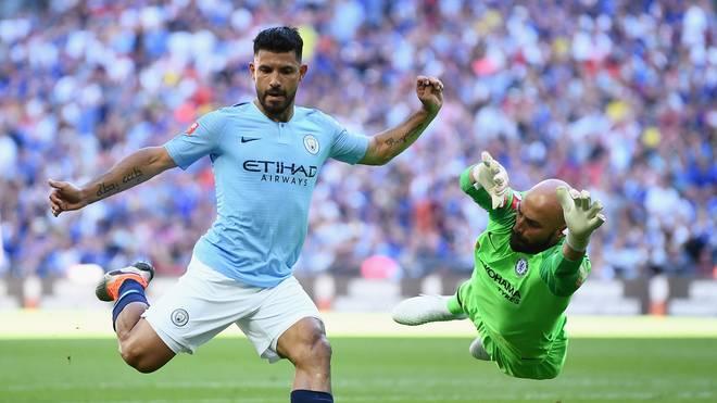 Sergio Agüero war der Matchwinner für Manchester City