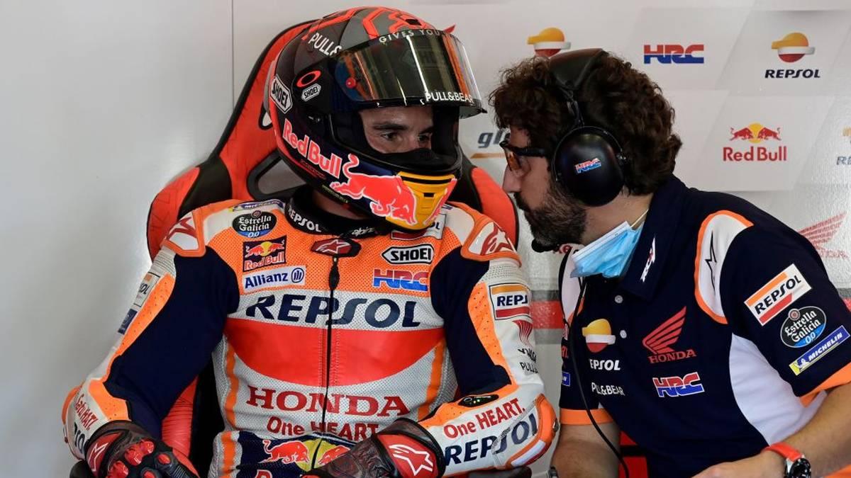 Marc Marquez brach sich in Jerez den rechten Oberarm