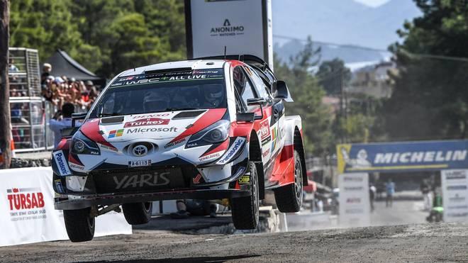 Ott Tänk war auch bei der Rallye in der Türkei nicht zu schlagen