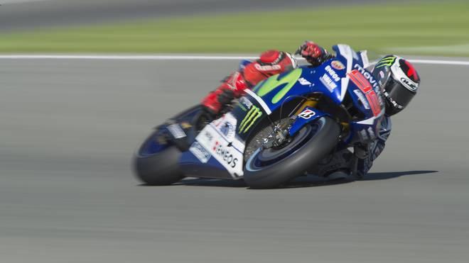 Jorge Lorenzo fuhr die schnellste Zeit im Qualifying