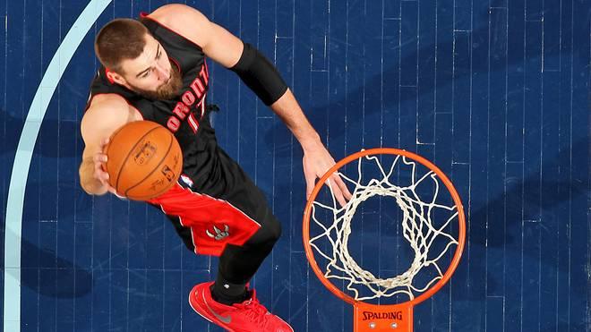 Jonas Valanciunas spielt seit 2011 bei den Toronto Raptors
