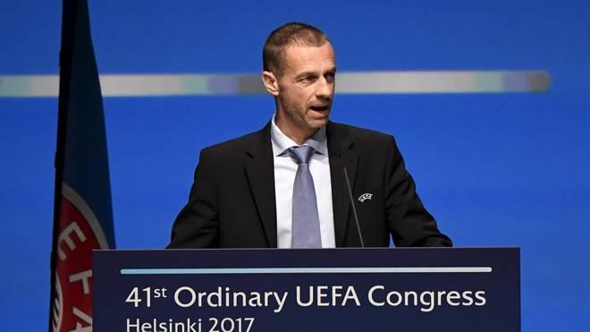 UEFA-Präsident Aleksander Ceferin fordert mehr Hilfe von der Politik